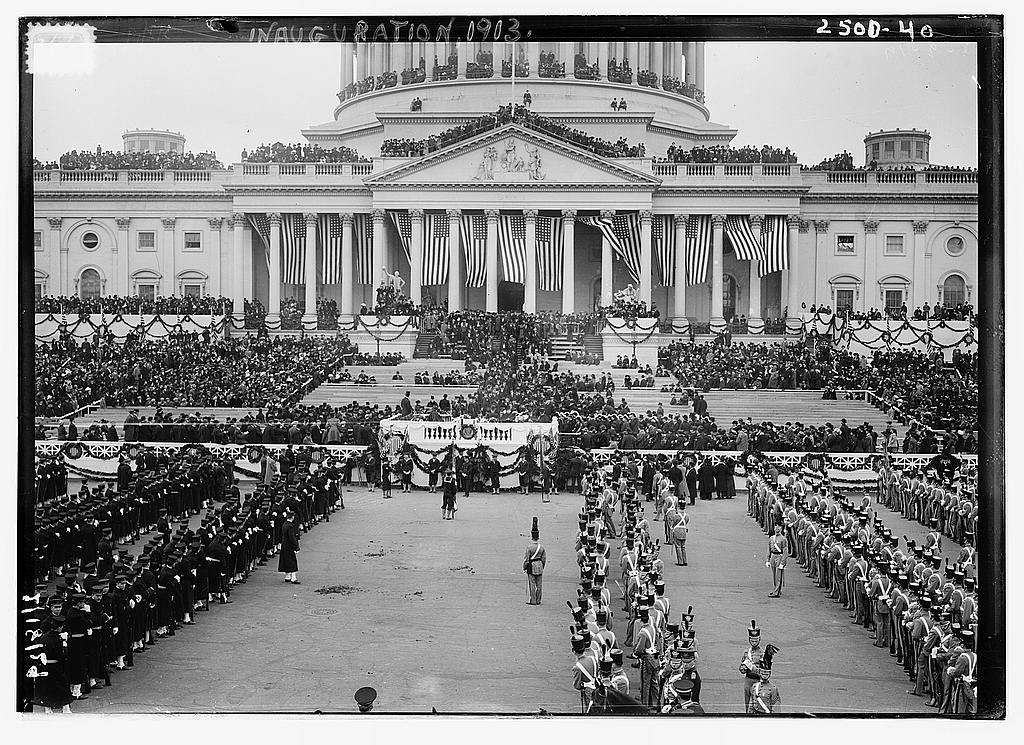 8 x 10 Photo of Inauguration, 1913 1913 G. Bain Collection 19a