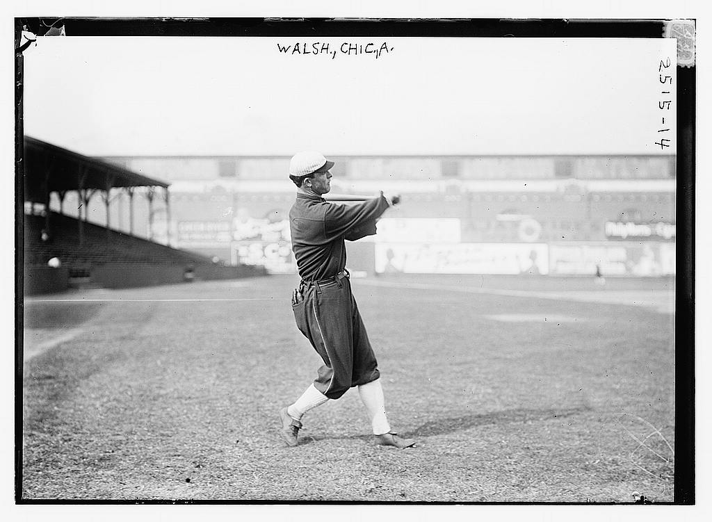 8 x 10 Photo of Ed Walsh, Chicago AL baseball  1912 G. Bain Collection 84a