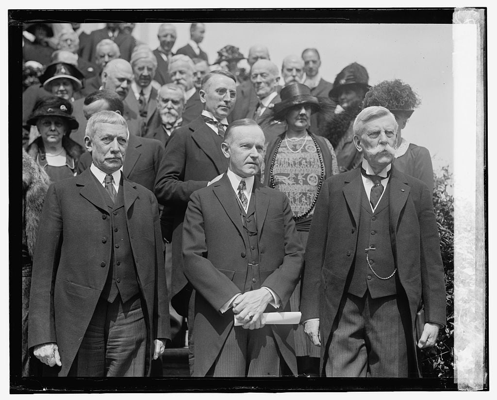 16 x 20 Reprinted Old Photo ofRoot, Coolidge, & Holmes, 6/2/24 1924 National Photo Co  01a