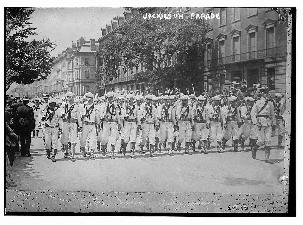 8 x 10 Photo of Jackies on Parade 1913 G. Bain Collection 83a