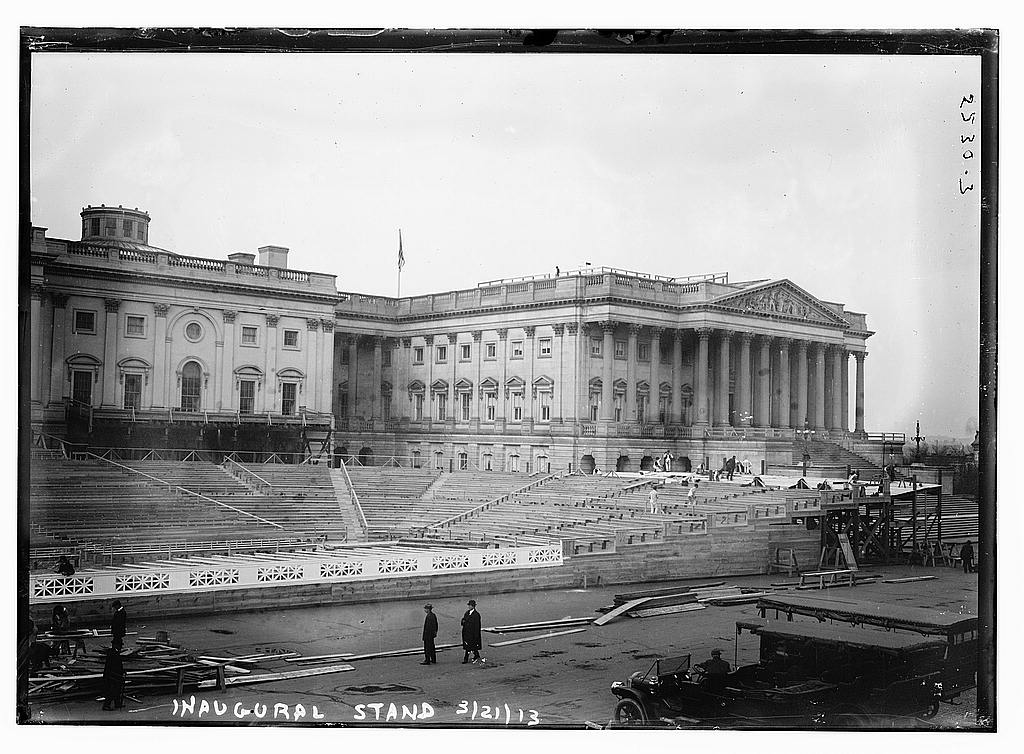 8 x 10 Photo of Inaugural stand 1913 1913 G. Bain Collection 84a