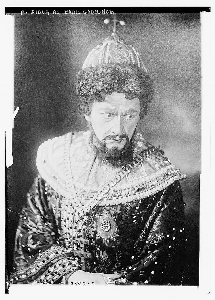8 x 10 Photo of A. Didur as Boris Godounow 1913 G. Bain Collection 50a