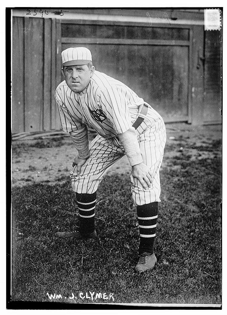 8 x 10 Photo of Manager William J. Clymer, Buffalo, International League baseball  1913 G. Bain Collection 34a