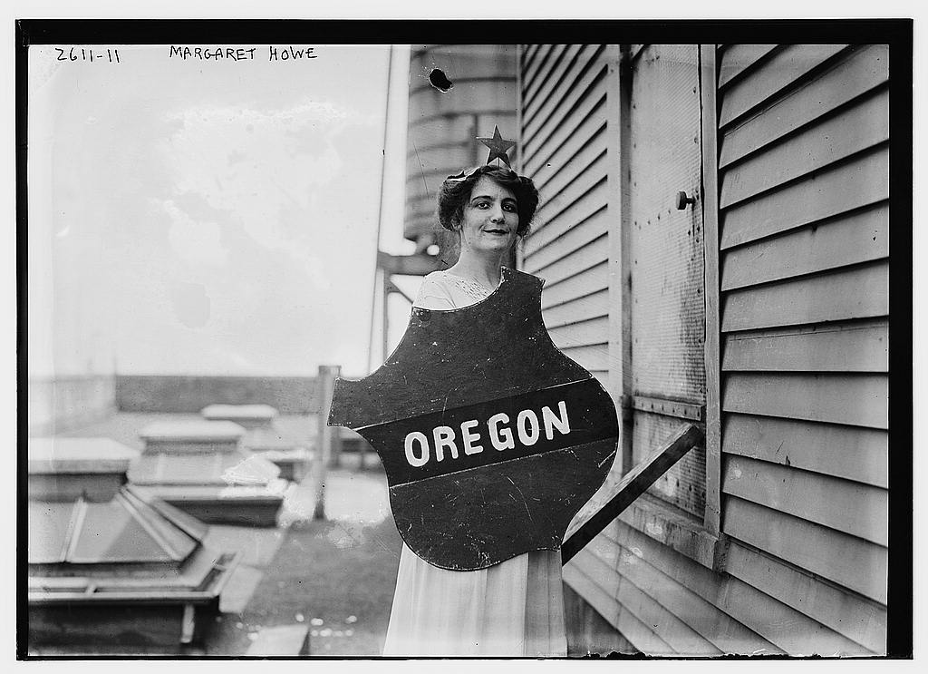 8 x 10 Photo of Margaret Howe Oregon 1913 G. Bain Collection 14a