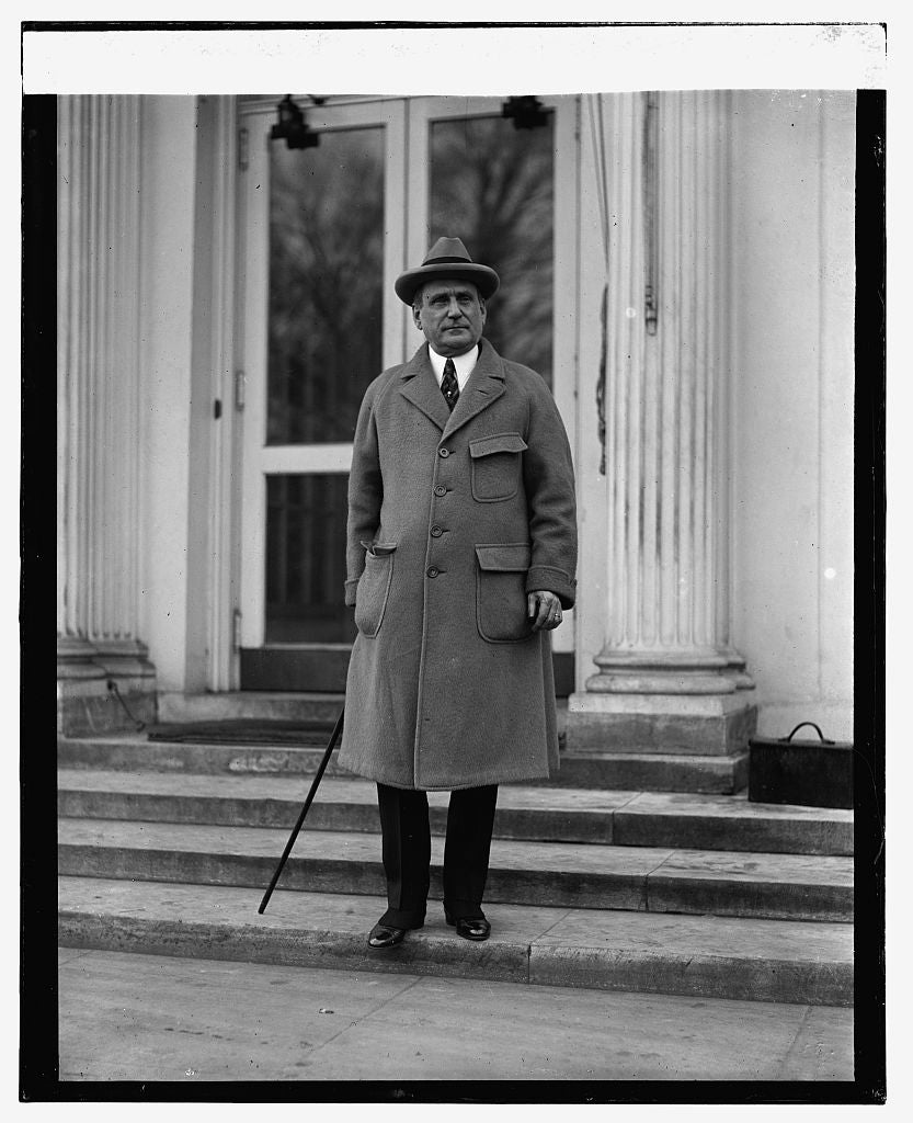 16 x 20 Reprinted Old Photo ofAmbassador Alex P. Moore at W.H., 1/21/25 1925 National Photo Co  36a