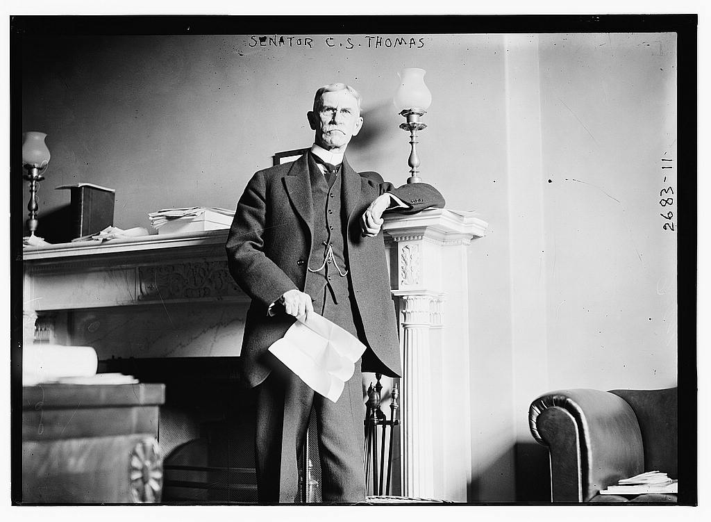 8 x 10 Photo of Senator C.S. Thomas 1913 G. Bain Collection 21a