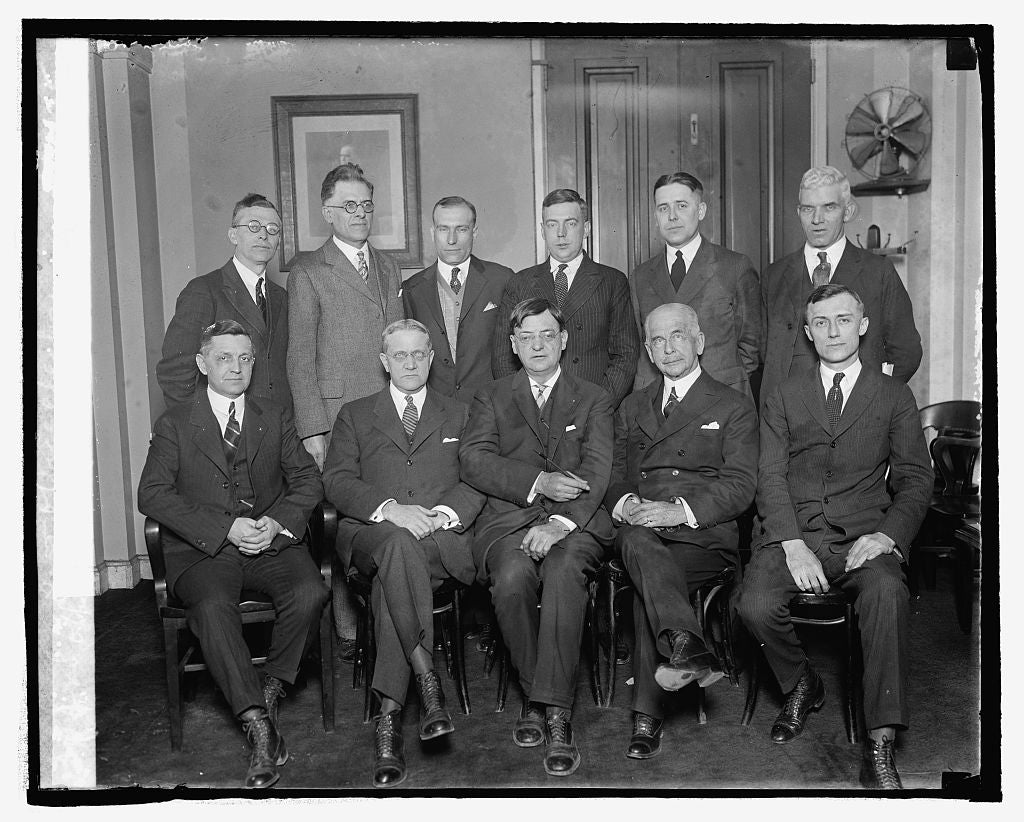 16 x 20 Reprinted Old Photo ofOfficials of United Natl. Assn. of Post Office clerks, 3/6/25 1925 National Photo Co  08a
