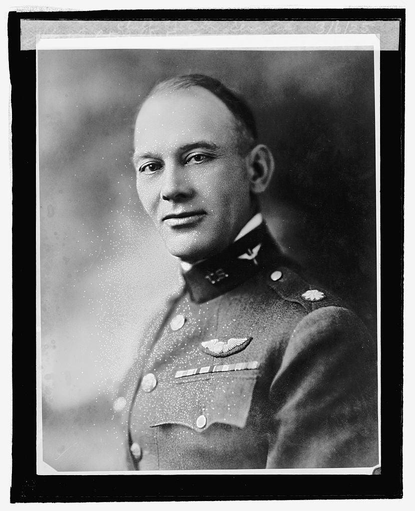 16 x 20 Reprinted Old Photo ofLt. Col. J.E. Fechet, New Ass't. Chief of Air Service, 3/6/25 1925 National Photo Co  17a