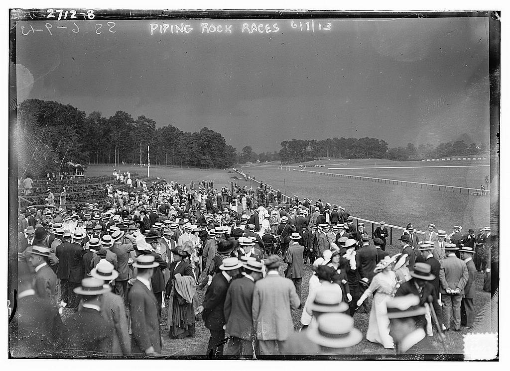 8 x 10 Photo of Piping Rock Races 1913 G. Bain Collection 38a