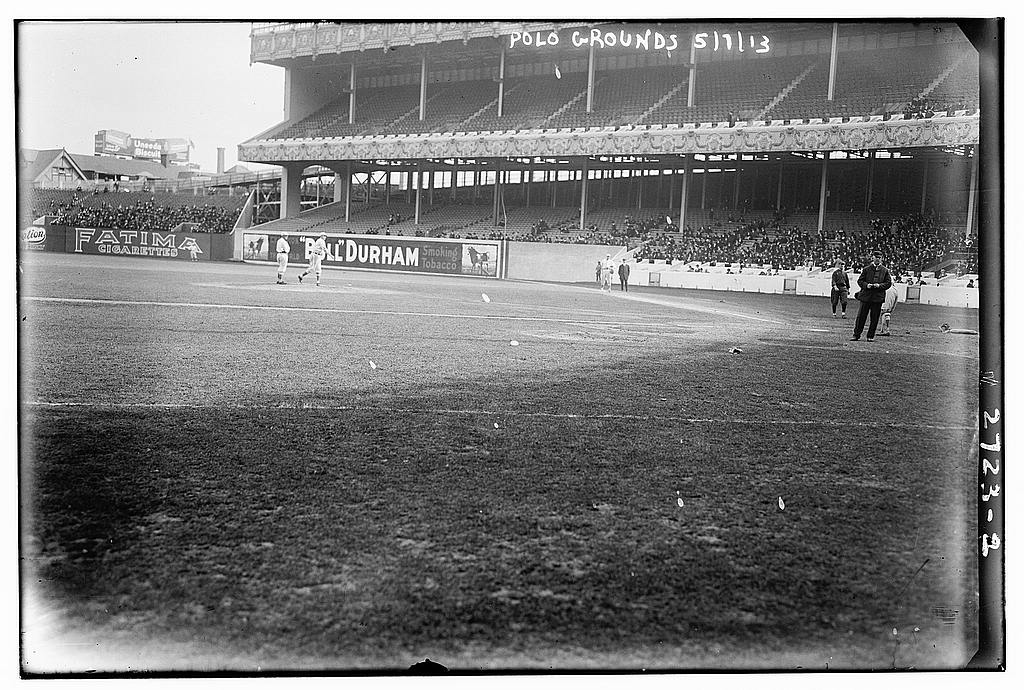 8 x 10 Photo of Polo Grounds, 5/7/13 1913 G. Bain Collection 61a