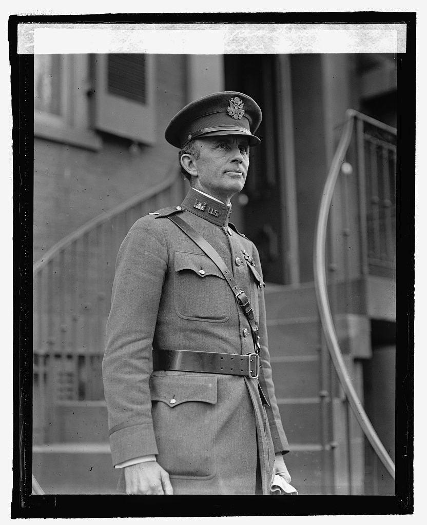 16 x 20 Reprinted Old Photo ofCol. S.A. Cheney, Aide to President, 4/7/25 1925 National Photo Co  83a