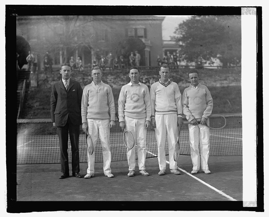16 x 20 Reprinted Old Photo ofColumbia Club team, 4/11/25 1925 National Photo Co  28a