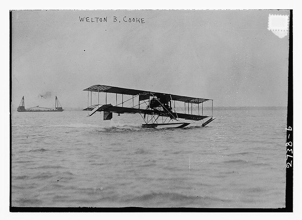 8 x 10 Photo of Weldon B. Cooke 1913 G. Bain Collection 89a