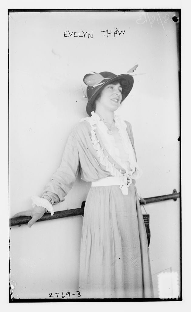 8 x 10 Photo of Evelyn Thaw 1913 G. Bain Collection 11a