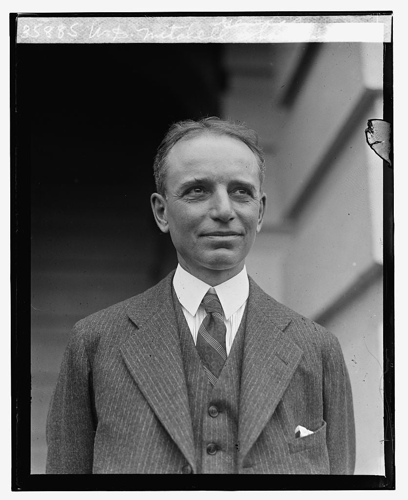 16 x 20 Reprinted Old Photo ofW.D. Mitchell, Solicitor General, 6/8/25 1925 National Photo Co  67a