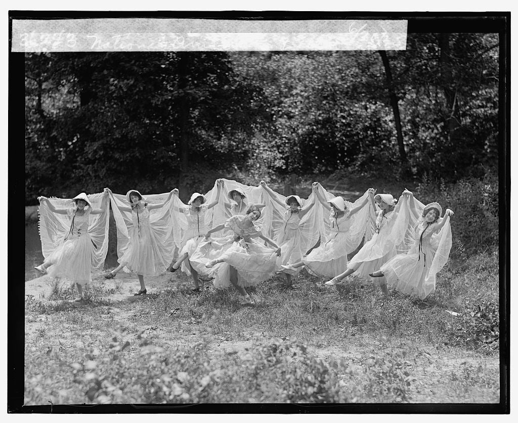 16 x 20 Reprinted Old Photo ofNational American Ballet, 6/30/25 1925 National Photo Co  70a