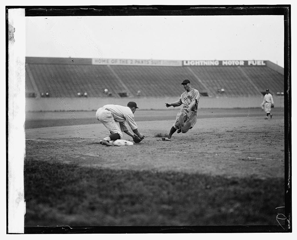 16 x 20 Reprinted Old Photo ofBaseball 1925 National Photo Co  97a