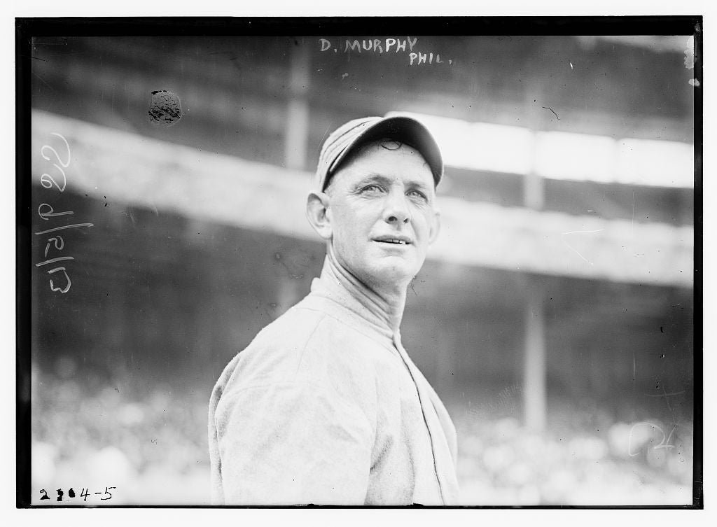 8 x 10 Photo of Danny Murphy, Philadelphia AL, at Polo Grounds, NY baseball  1913 G. Bain Collection 80a