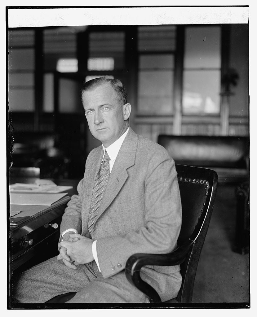 16 x 20 Reprinted Old Photo ofHorace J. Donnelly, Solicitor of Post Off. Dept., 8/26/25 1925 National Photo Co  02a