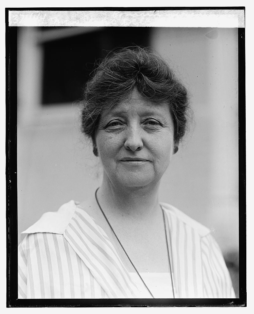16 x 20 Reprinted Old Photo ofMiss Jessie Dell, Civil Service Commissioner, 9/18/25 1925 National Photo Co  65a