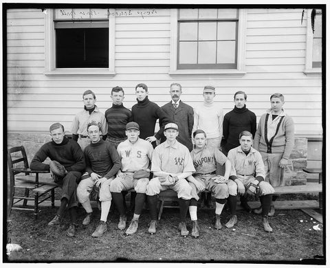 8 x 10 Reprinted Old Photo of Boys School Baseball '06 1906 Harris & Ewing 14a