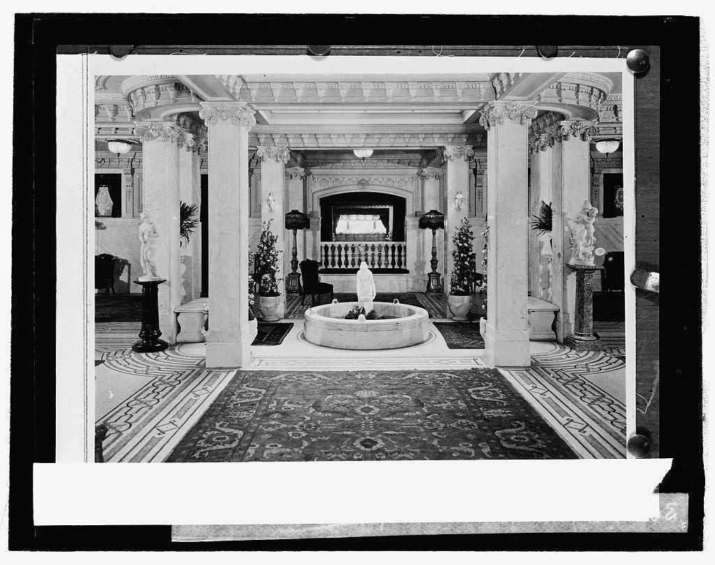 16 x 20 Reprinted Old Photo ofCairo Hotel 1926 National Photo Co  29a