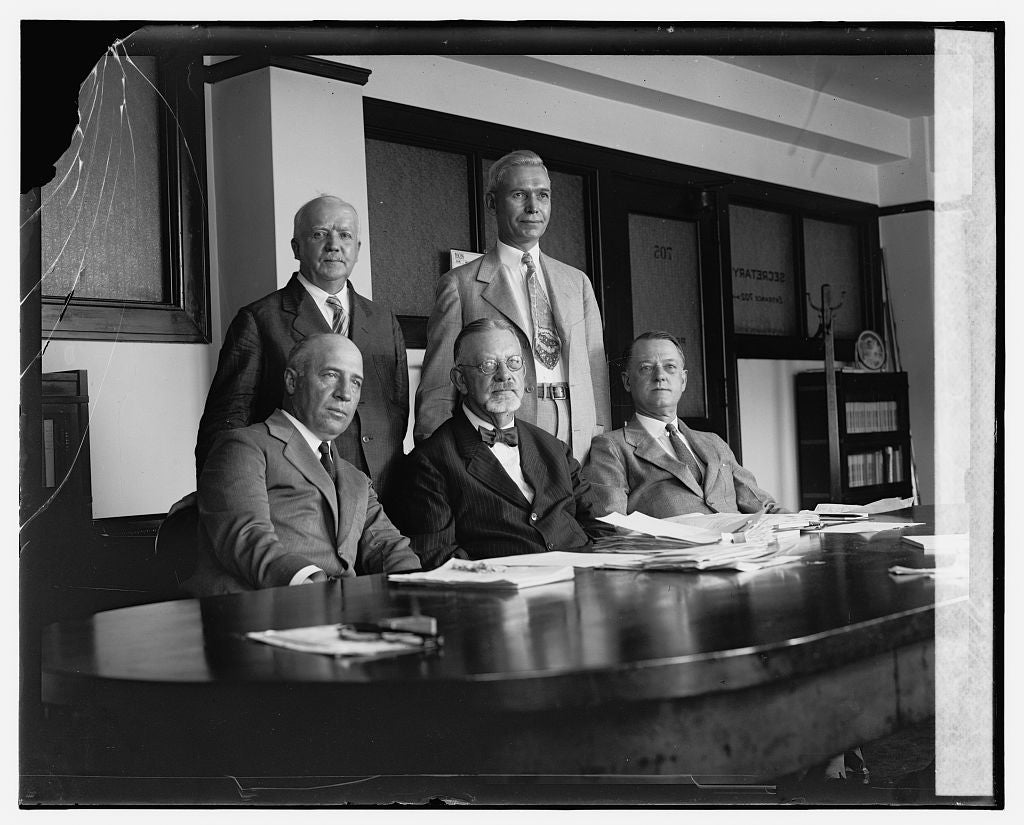16 x 20 Gallery Wrapped Frame Art Canvas Print of Railway Mediation Board, 7/8/26 1926 National Photo Co  96a