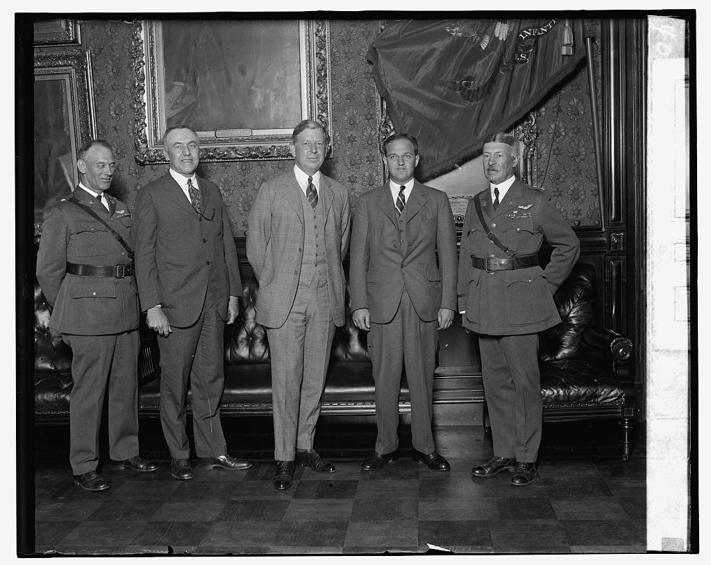 16 x 20 Gallery Wrapped Frame Art Canvas Print of Swearing in of Asst. Sec. of War, F.T. Davison, Jr., 7/16/26 1926 National Photo Co  55a