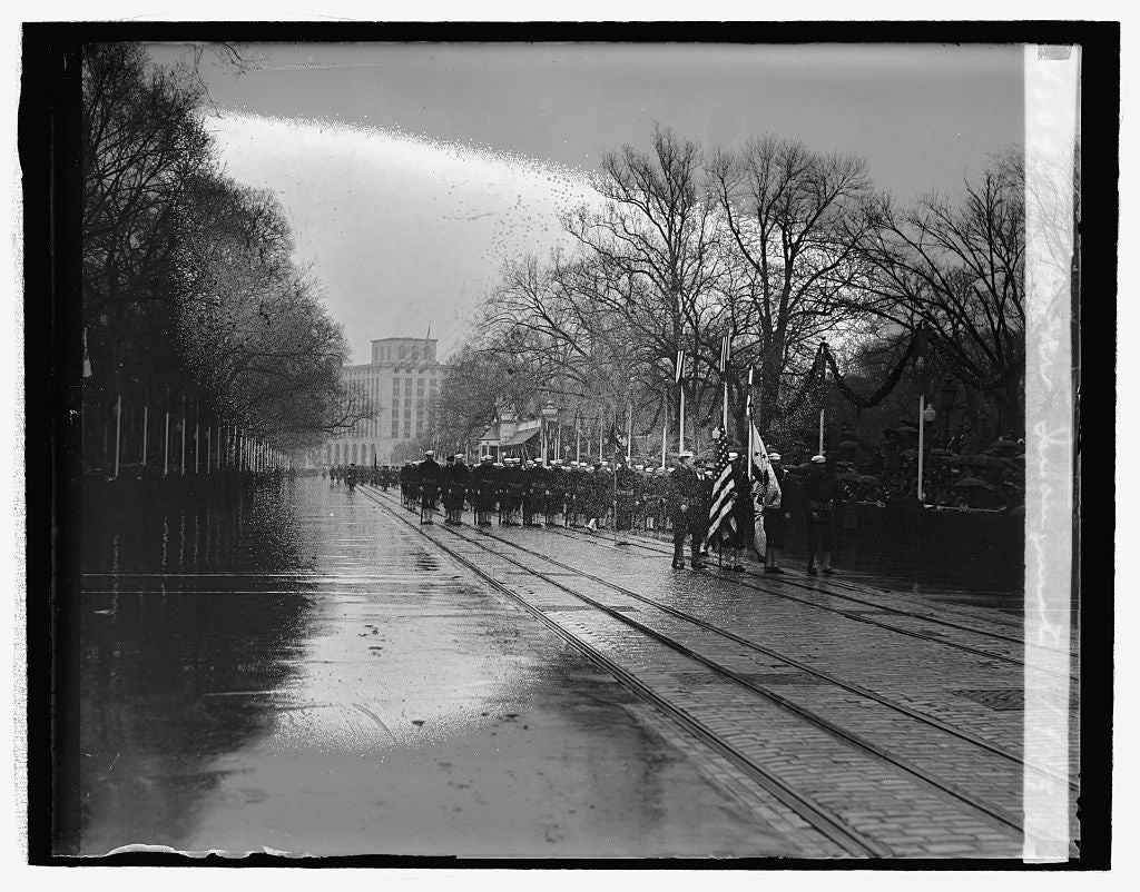 16 x 20 Reprinted Old Photo ofHoover Inauguration, 1929 1929 National Photo Co  07a