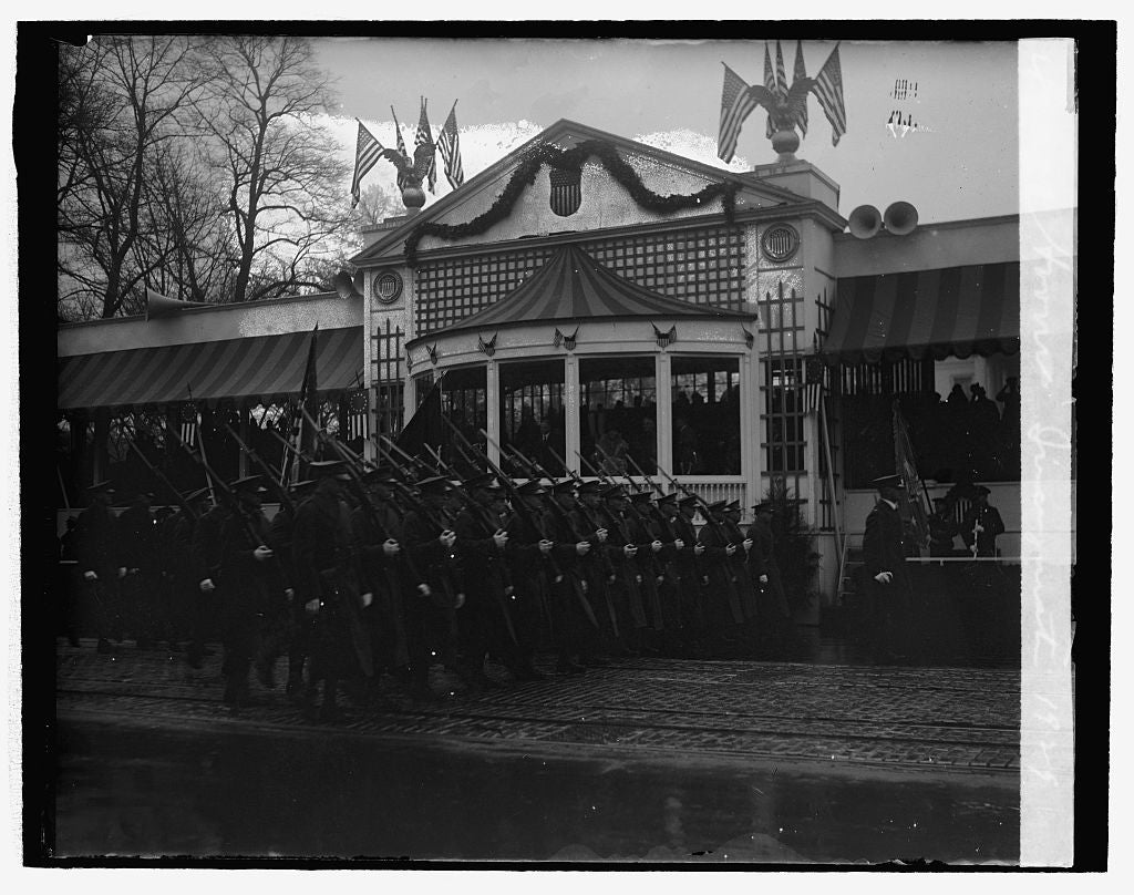 16 x 20 Reprinted Old Photo ofHoover Inauguration, 1929 1929 National Photo Co  10a