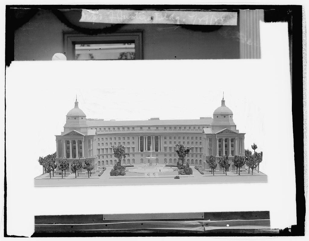 16 x 20 Reprinted Old Photo ofDept. of Justice bldg., 4/29/28 1929 National Photo Co  46a