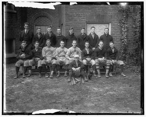 8 x 10 Reprinted Old Photo of Woodberry Forest. Baseball Team 1905-45 Harris & Ewing 06a