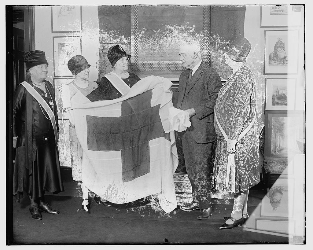 16 x 20 Gallery Wrapped Frame Art Canvas Print of Unidentified 1921 National Photo Co  70a