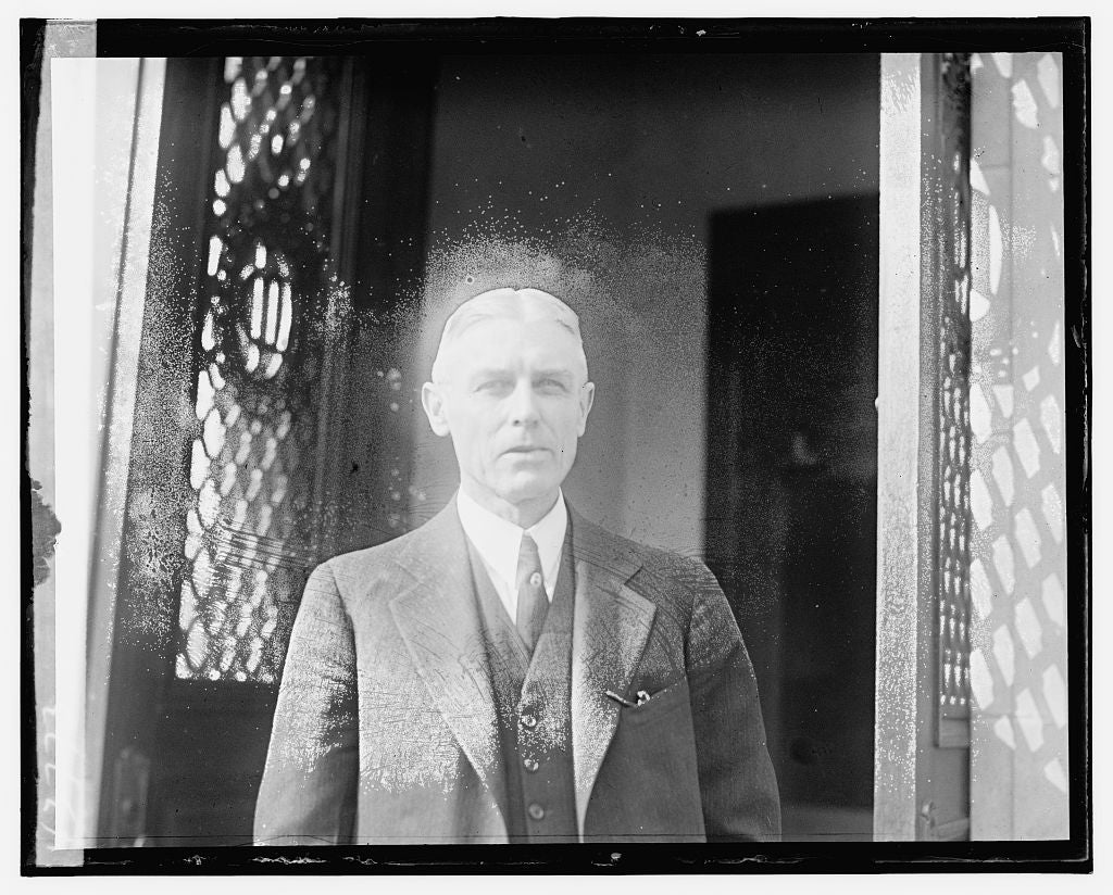 16 x 20 Gallery Wrapped Frame Art Canvas Print of Unidentified man 1921 National Photo Co  75a