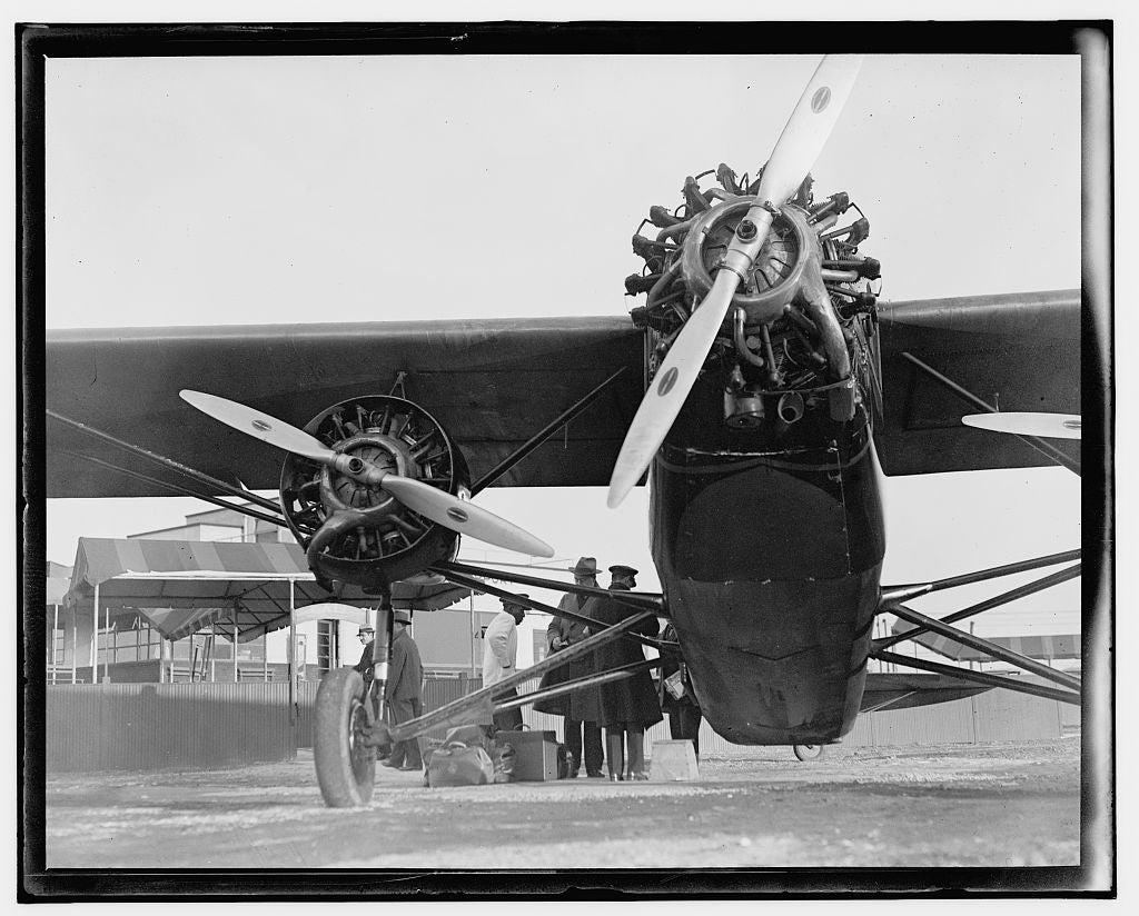 16 x 20 Gallery Wrapped Frame Art Canvas Print of  Airplane 1909 National Photo Co  35a