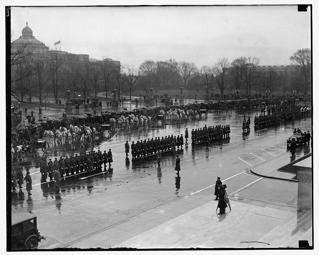 16 x 20 Reprinted Old Photo of Taft funeral 1909 National Photo Co  94a