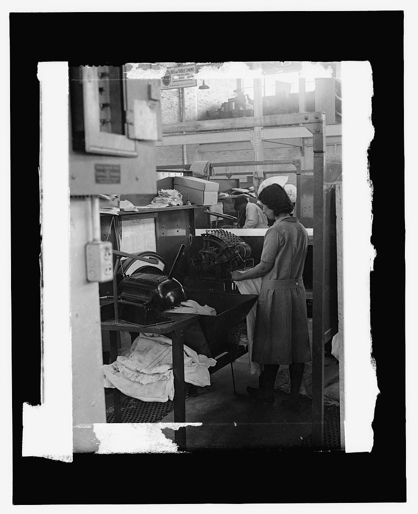 16 x 20 Reprinted Old Photo of Tolman Laundry, [Wash. D.C.] 1909 National Photo Co  73a