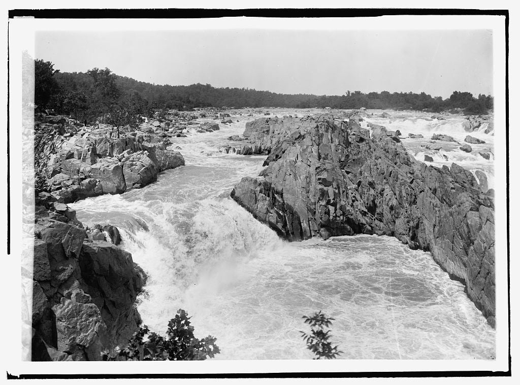 16 x 20 Reprinted Old Photo ofGreat Falls 1916 National Photo Co  39a
