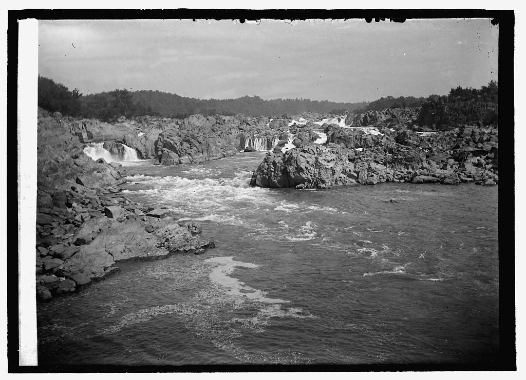 16 x 20 Reprinted Old Photo ofGreat Falls 1916 National Photo Co  94a
