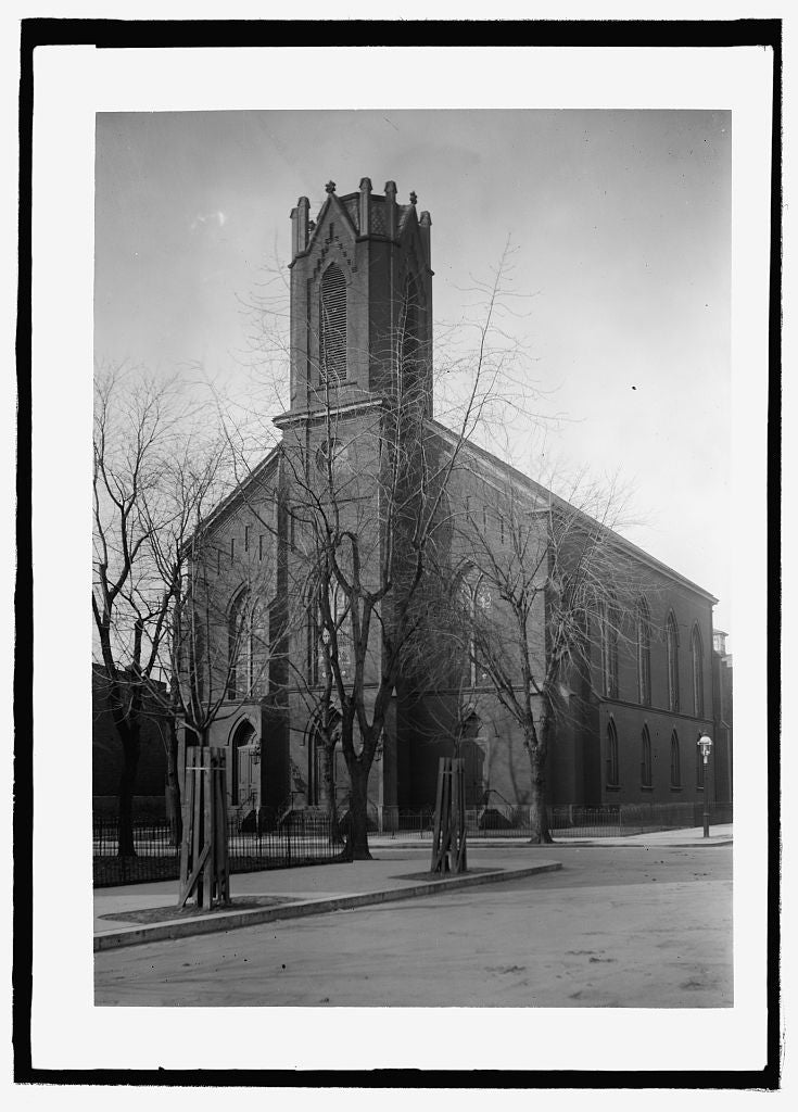 8 x 10 Reprinted Old Photo of  Metropolitan Presb. Church 1909 National Photo Co  41a