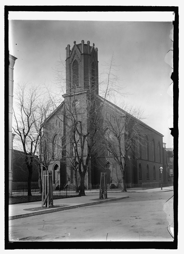 16 x 20 Reprinted Old Photo of Metropolitan Presb. Church 1909 National Photo Co  42a