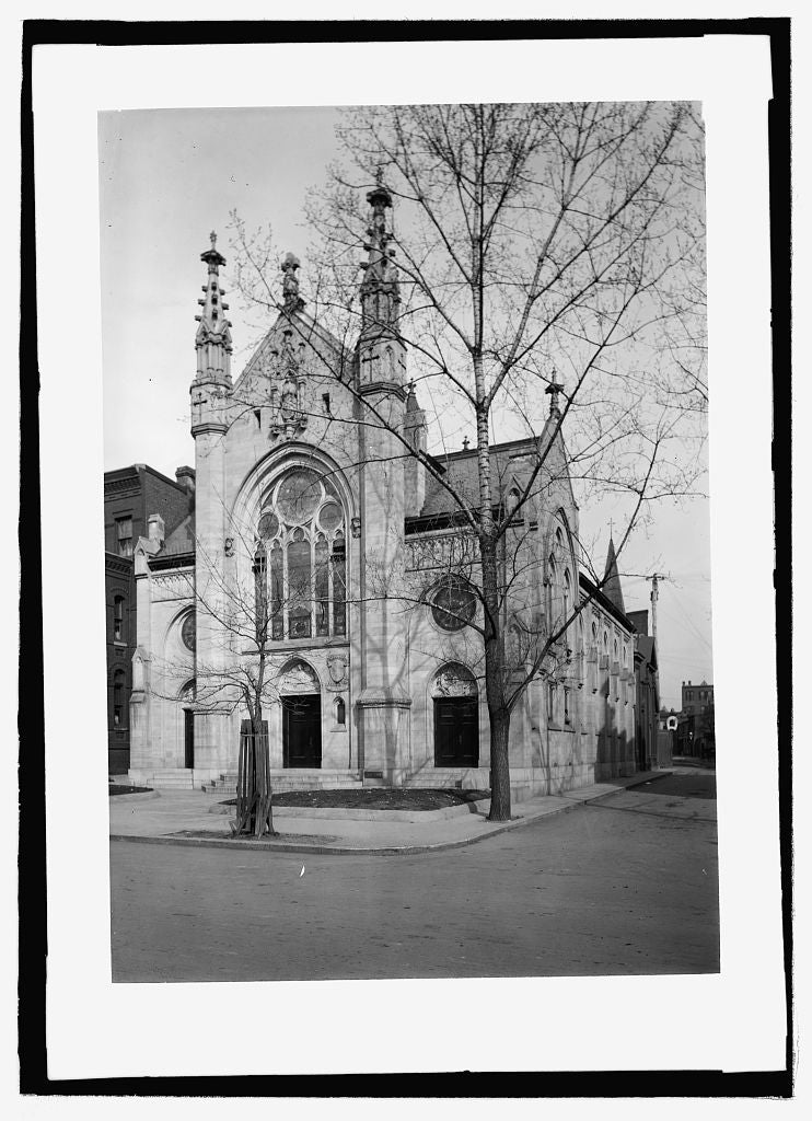 16 x 20 Reprinted Old Photo of Grace Dutch Reform Church 1909 National Photo Co  48a
