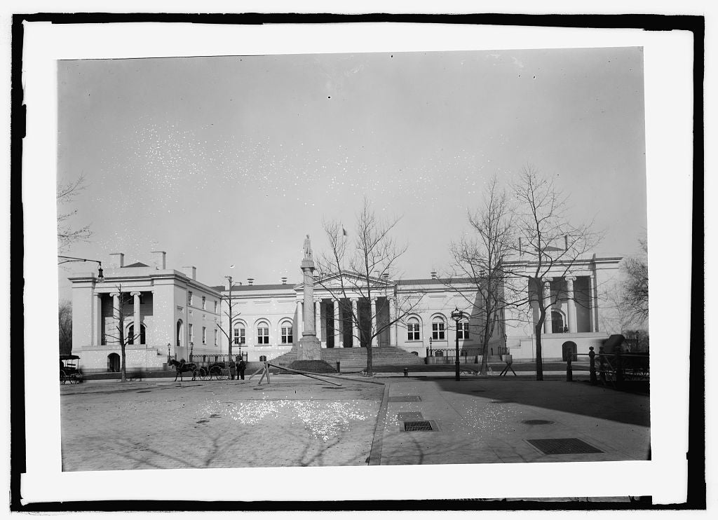 8 x 10 Reprinted Old Photo of  City Hall 1909 National Photo Co  74a