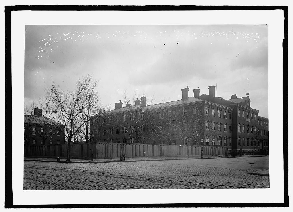 16 x 20 Reprinted Old Photo of Old Central High School 1909 National Photo Co  29a