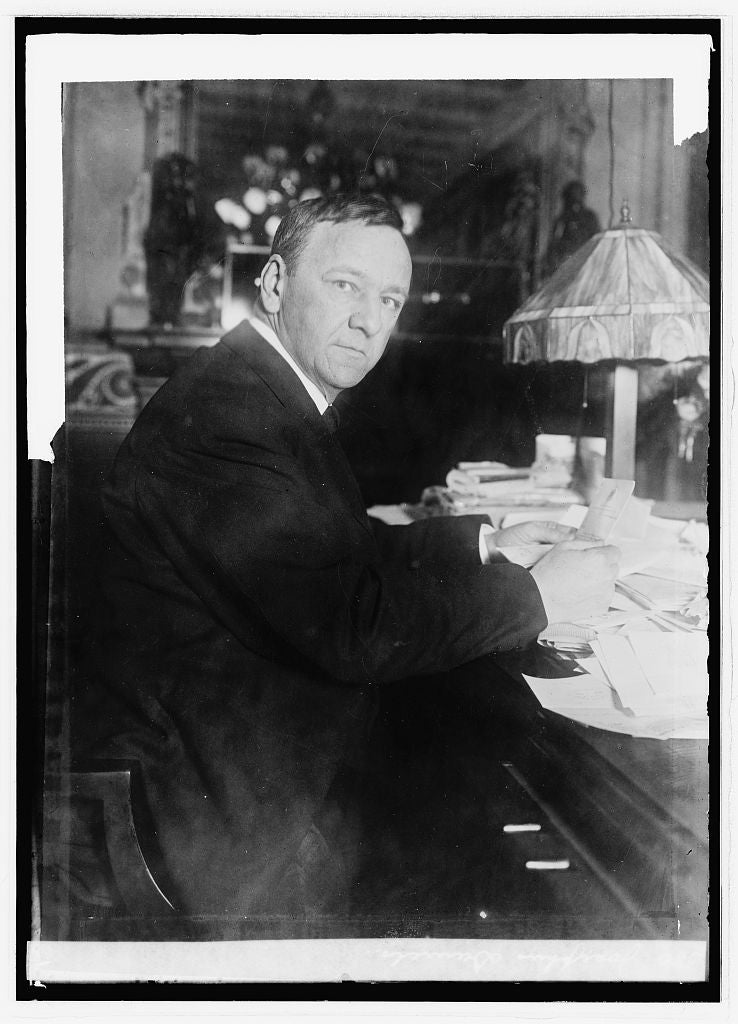 8 x 10 Reprinted Old Photo of Josephus Daniels 1914 National Photo Co  57a