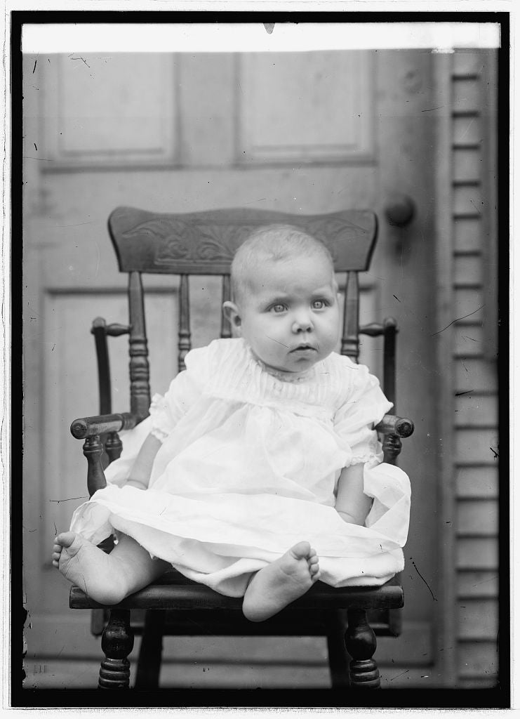 8 x 10 Reprinted Old Photo of Gus Tolson, baby 1914 National Photo Co  08a