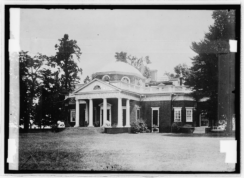 16 x 20 Reprinted Old Photo ofMonticello 1914 National Photo Co  55a