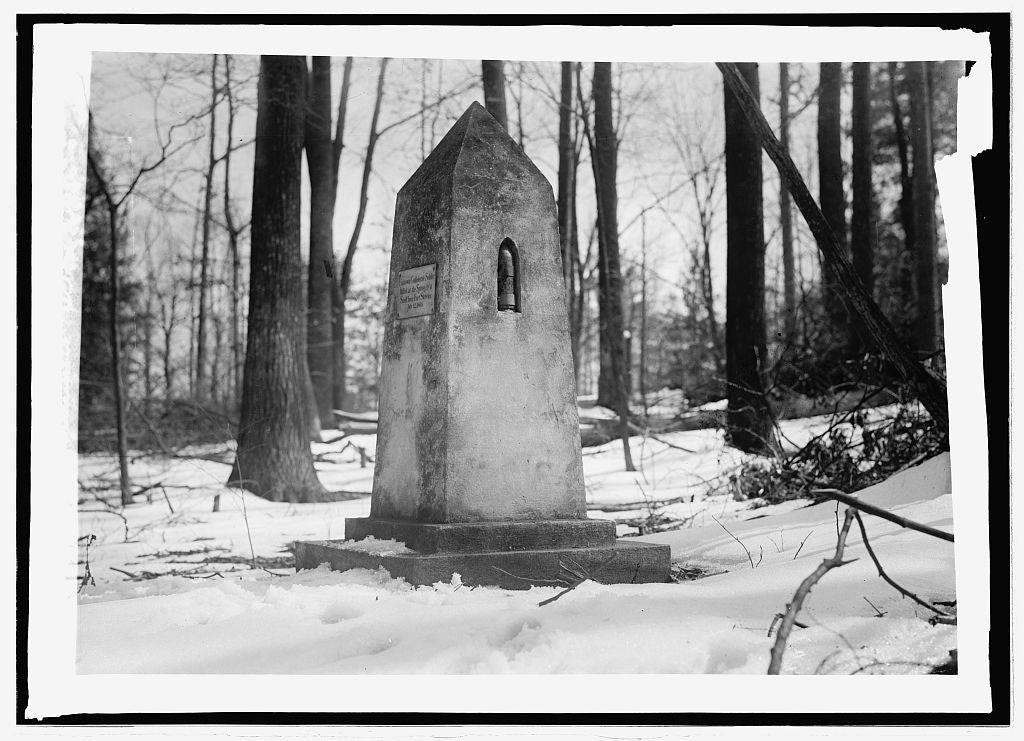 16 x 20 Reprinted Old Photo ofConfederate monument, Silver Spring 1914 National Photo Co  02a