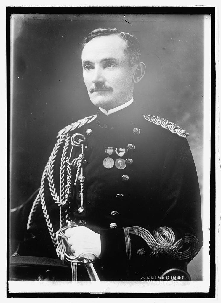 8 x 10 Reprinted Old Photo of Brig. Genl. Henry P. McCain 1914 National Photo Co  05a
