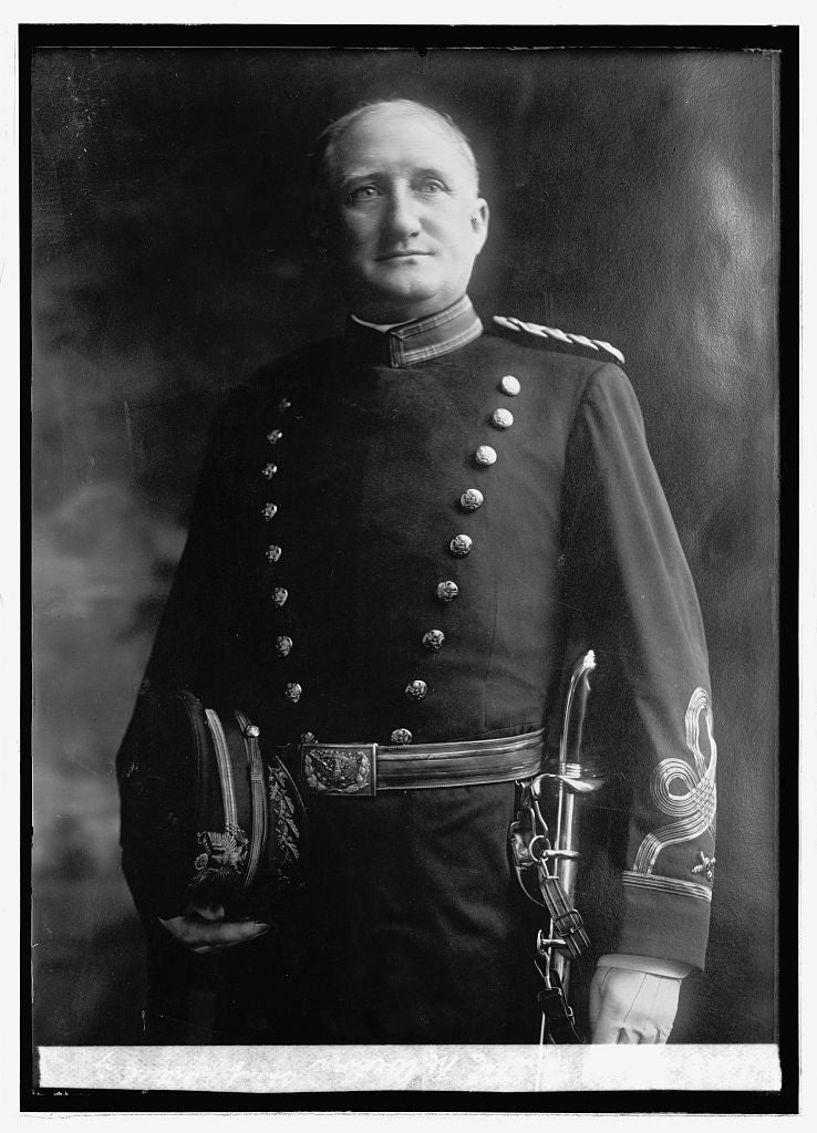 8 x 10 Reprinted Old Photo of Brig. Genl. E.M. Weaver, Chief of Artillery 1914 National Photo Co  26a
